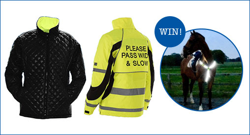 Win one of three high visibility hampers, worth £150 each | Petplan Equine