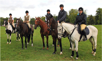 Caroline Snow, Lucy Higginson, Isabella von Mesterhazy, William Fox-Pitt and Hellen McGoey